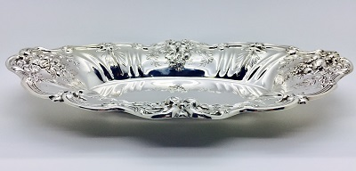 Oval Sterling Dish Francis I by Reed & Barton