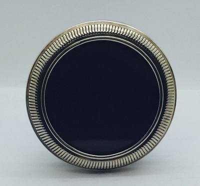 Sterling Round Antique Frame