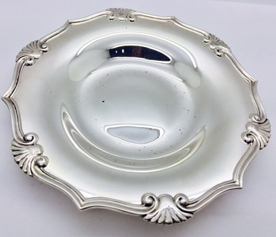 Tiffany Sterling Round Dish
