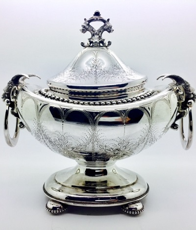 Bigelow Bros. & Kennard Small Tureen - Boston Coin Silver