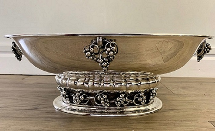 Georg Jensen Sterling Large Centerpiece #296A